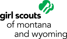 GIRL SCOUTS OF MONTANTA AND WYOMING Logo
