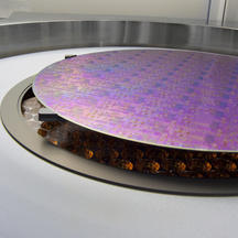 Vantage Vulcan system with heating lamps located below the semiconductor wafer